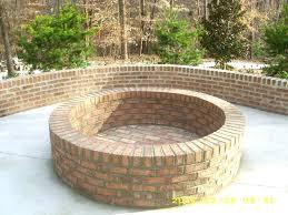 unique ideas fire brick for pit about round building