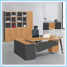 office working table. New Design Office Staff Computer Table, Wooden L-Shape Working Desk Table A
