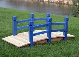 solid wood deisgn outdoor garden bridge
