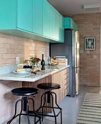 Os azulejos estilo subway tile esto super em alta. Cozinha Azul 40 Modelos Tons Fotos E Dicas
