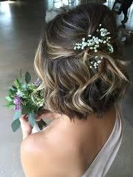 Merveilleux Coiffure De Mariage Cheveux Mi Longs Le Blog