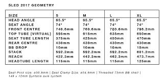 Seatpost Clamp Size Chart Dmr Sled Frame Full Suspension Enduro Mountain Bike Frame