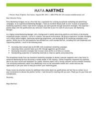 Ideas Collection Cover Letter For Cv Marketing Manager Epic