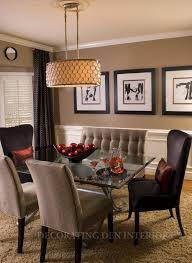Modren Dining Room Paint Ideas With Accent Wall Color Popular Colors Brown In Decorating