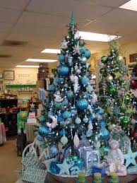 But I do SO love how the turquoise tree and green tree look side by side!