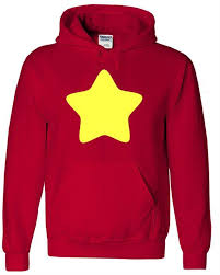 Hoodie Colour Chart Steven Universe Star Inspired Hoodie Hooded Top Sweatshirt