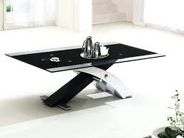 white leather coffee table coffee table ultra modern black and white leather glass coffee table is