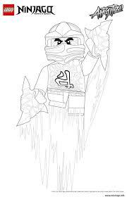 Coloriage Lego Ninjago Kai Jeux De Coloriage Magique Gratuit