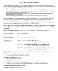 Nuclear Engineer Sample Resume 10 Military Resumes 1 Page Sample Resume.  Samples Of