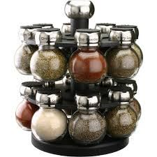 Spice Racks For Kitchen Olde Thompson Orbit 16 Jar Spice Rack Spices Home Appliances