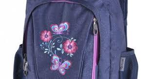 <b>Рюкзак</b> для школы <b>PULSE MUSIC JEANS</b> FLOWER, джинс цветы ...