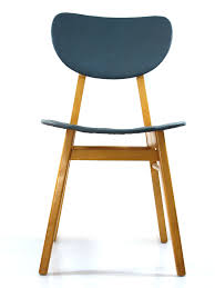 2 wooden fifties dining chairs vintage retro