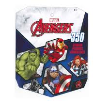 Marvel Avengers Sticker Book For Kids Featured Incredible Hulk Captain America Iron Man Thor Black Widow Hawkeye Over 350 Stickers 1 Pack