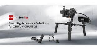 SmallRig X <b>ZHIYUN</b>: Seamless Accessory Solutions for <b>CRANE</b> 2S