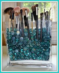 diy gl makeup brush holder middot cool make up brush storage ideas 4 middot doesn 39