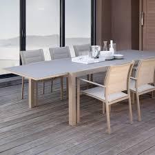 Tavolo da pranzo allungabile per esterni touch 220 330 cm