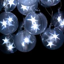 decorative string lighting. Contemporary String Star Sphere Battery Operated String Lights On Decorative Lighting S