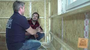 In diesem video werden die wichtigsten arbeitsschritte der elektroinstallation im rohbau in chronologischer reihenfolge gezeigt._maschinen. Taff Haus Do It Yourself Elektroinstallation Youtube