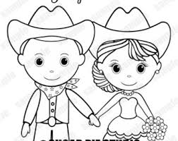 Wedding Coloring Page Activity Personalized Printable Pdf Or Etsy