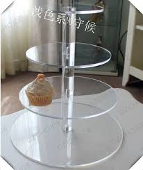 Lucite Display Stands Extraordinary Round Clear 32 Tier Acrylic Wedding Cake Display Stand Lucite Cupcake