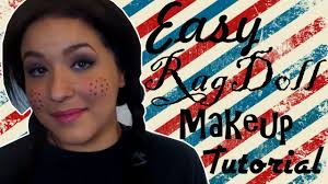y raggedy ann rag doll makeup tutorial landmakeup