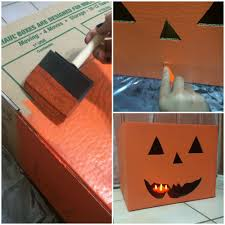Decorating Cardboard Boxes 100 Easy DIY Halloween Decorations Moving Insider 21