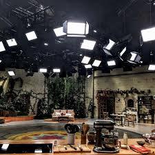 Tv Studio Lighting Design Fluotec We Light