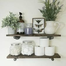 the industrial pipe corner shelf