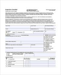 Home Inspection Forms Free Download Home Inspection Checklist I