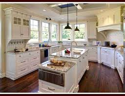 Cottage Style Kitchen Bloombety Beach Cottage Style Kitchen Decorating Photos Cottage