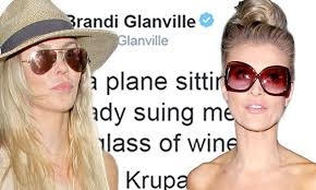 Brandi Glanville Birth Chart Brandi Glanville Finds Herself On The Same Flight As Joanna