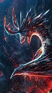 Burning dragon Wallpaper 4k Ultra HD ID ...