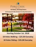 Pebble Creek Golf | Come Play Golf!