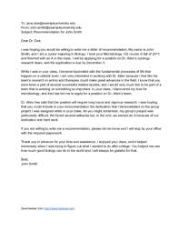 Tips For Asking For A Letter Of Recommendation How To Ask Your Professor For A Letter Of Recommendation Via Email