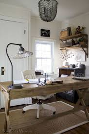 45 Amazing Rustic Home Office Furniture Ideas