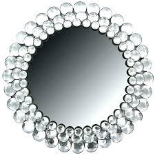 acrylic crystal wall decor mirrors home frames cut