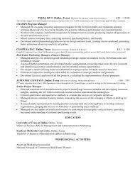 Pizza Maker Resume resume example and writing download best compensation  and benefits resume example livecareer resume