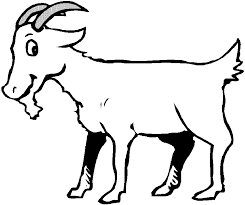Small Picture Printable Goat Coloring Pages For Kids Best Coloring Pages