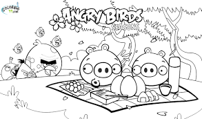 Small Picture Angry Birds Coloring Pages GetColoringPagescom