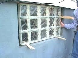 glass block basement window glass block basement windows cost glass block windows exquisite astonishing glass block