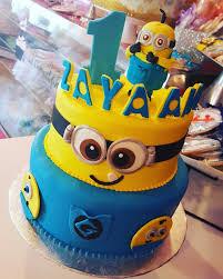 Minion First Birthday Cake Wwwfacebookcomcarinaedolce Www