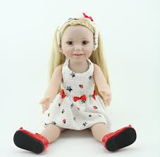 Simulation Doll Baby Cute Hair Suits Childrens Toys Girl