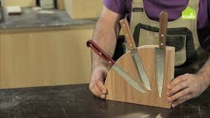 <b>Магнитная подставка для ножей</b>. Часть 1 - YouTube