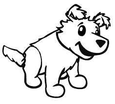 Disegno Di Cucciolo Da Colorare Per Bambini