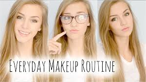 everyday makeup routine for