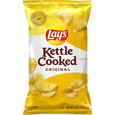 But instead of buying chips from… but instead of buying chips from outside we can prepare it at home that too very quickly. Lay S Kettle Cooked Original Potato Chips 8 0oz Target