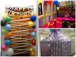 office birthday decoration. Office Decor For Boss\u0027s Birthday Party Decoration