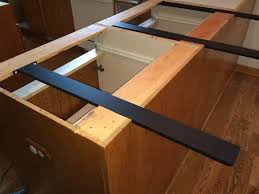 image of island countertop support brackets