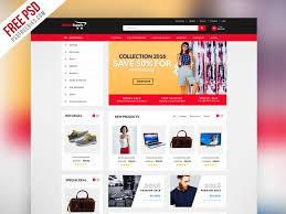 Ecommerce Website Template Mesmerizing Freebie Multipurpose Ecommerce Website Template PSD By PSD