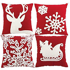 Christmas Covers For Pillows